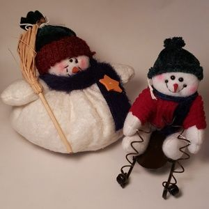 Other - Set of Holiday Snowman Decorations (2)